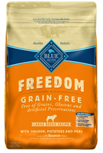 Load image into Gallery viewer, Blue Buffalo Freedom Grain Free Chicken Recipe Large Breed Adult Dry Dog Food