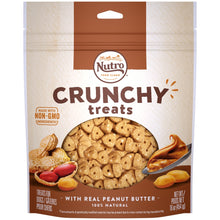 Load image into Gallery viewer, Nutro Crunchy Treats with Real Peanut Butter Dog Treats