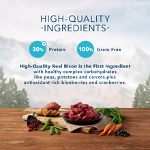 Load image into Gallery viewer, Blue Buffalo Wilderness Rocky Mountain Grain Free Bison High Protein Recipe Adult Dry Dog Food
