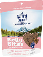 Load image into Gallery viewer, Natural Balance Belly Bites Salmon & Legume Semi-Moist Treats for Dogs