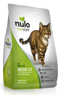 Nulo FreeStyle Indoor Cat Grain Free Duck and Lentils Recipe Dry Cat Food