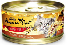 Load image into Gallery viewer, Fussie Cat Super Premium Grain Free Chicken Formula in Gravy Canned Food