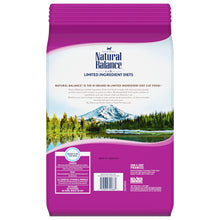 Load image into Gallery viewer, Natural Balance L.I.D. Limited Ingredient Diet Adult Grain Free Green Pea & Venison Adult Dry Cat Food