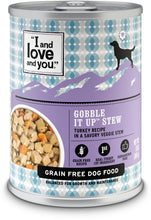 Load image into Gallery viewer, I and Love and You Grain Free Gobble It Up Stew Canned Dog Food
