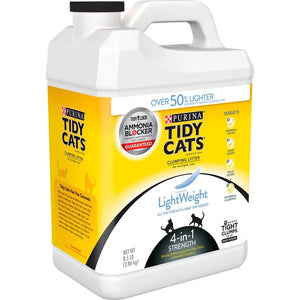 Tidy Cats Clumping Light Weight 4-in-1 Strength Cat Litter