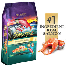 Load image into Gallery viewer, Zignature Limited Ingredient Diet Grain Free Salmon Recipe Dry Dog Food