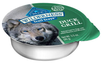 Blue Buffalo Wilderness Trail Trays Duck Grill Dog Food Cup