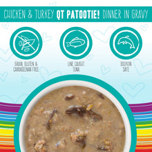 Load image into Gallery viewer, Weruva BFF Oh My Gravy QT Patootie Grain Free Chicken & Turkey in Gravy Canned Cat Food