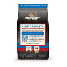 Load image into Gallery viewer, Merrick Backcountry Grain Free Hero's Banquet Dry Dog Food