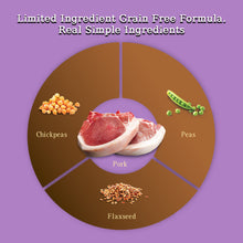 Load image into Gallery viewer, Zignature Limited Ingredient Formula Grain Free Pork Dry Dog Food