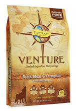 Load image into Gallery viewer, Earthborn Holistic Venture Grain Free Duck Meal and Pumpkin Dry Dog Food
