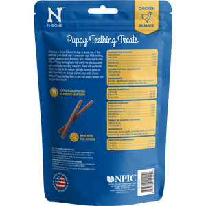 N-Bone Puppy Teething Treats Chicken Flavor Dog Treats