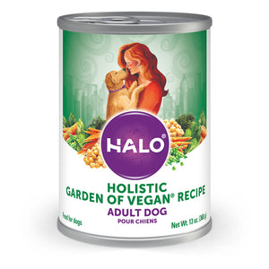 Halo Holistic Garden of Vegan Recipe Canned Dog Food