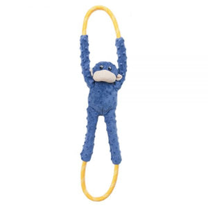 ZippyPaws Monkey RopeTugz Plush Dog Toy