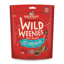Load image into Gallery viewer, Stella & Chewy's Wild Weenies Grain Free Lamb Recipe Freeze Dried Raw Dog Treats