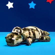 Load image into Gallery viewer, ZippyPaws Z-Stitch Camron the Camo Gator Plush Dog Toy
