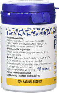 Proden PlaqueOff Dental Powder Supplement for Dogs & Cats