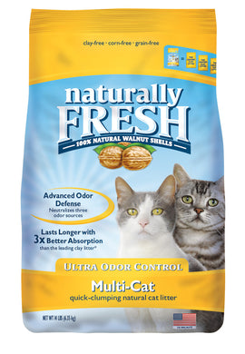 Naturally Fresh Multi-Cat Ultra Odor Control Quick Clumping Cat Litter