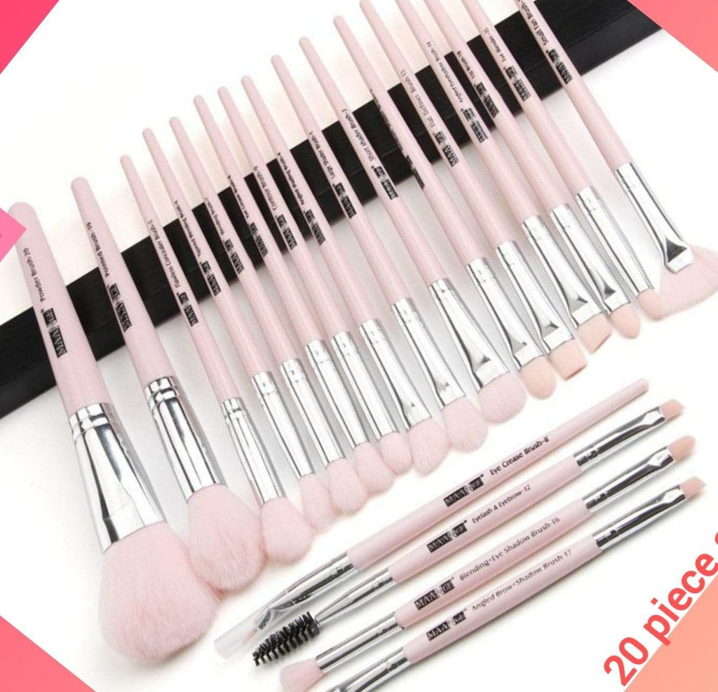 In Style Pieces™ | Professional Long Lasting Makeup Brush Set 12  to 20 pcs. - In Style Always