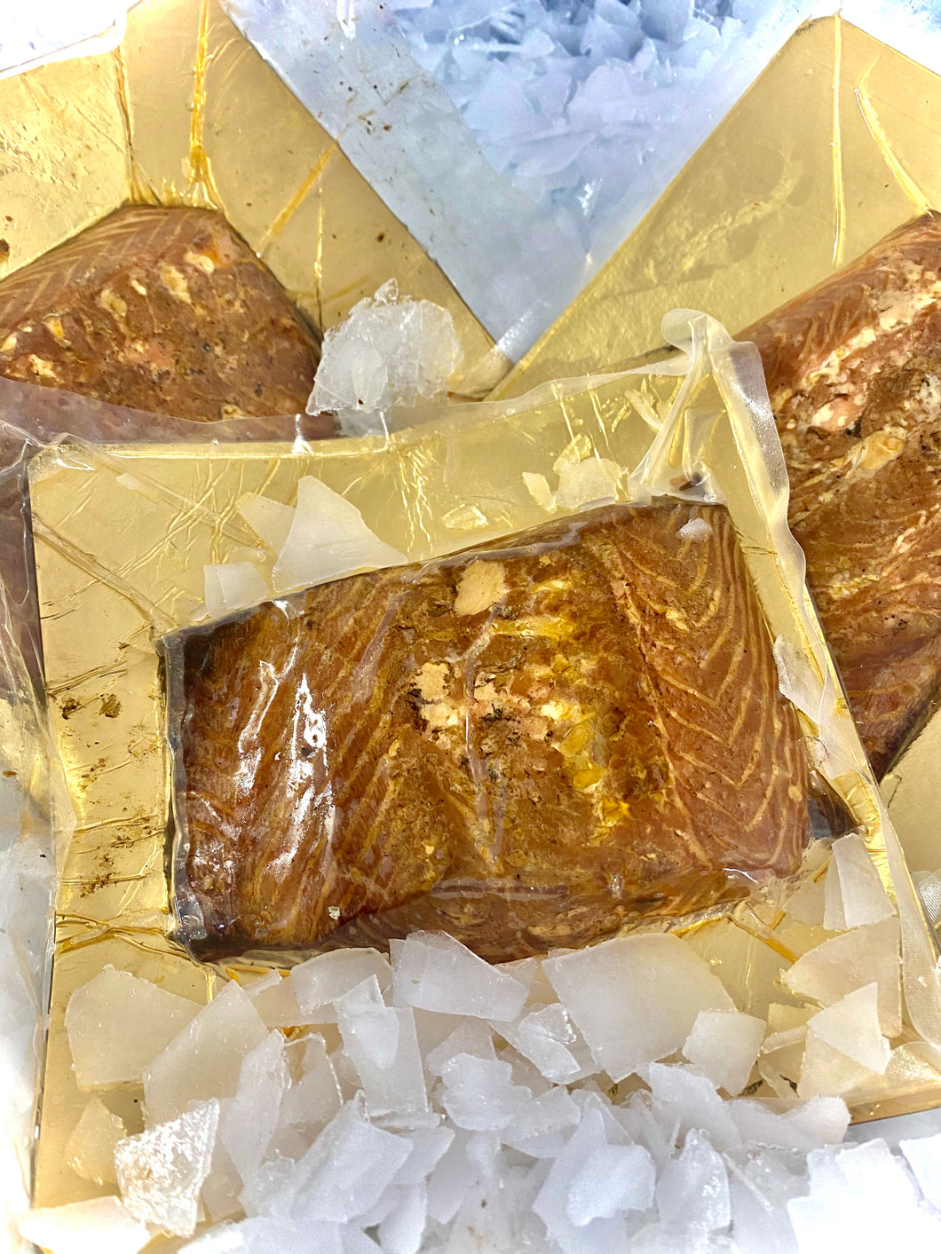 Luxury Hot Smoked Salmon 200-300g portions