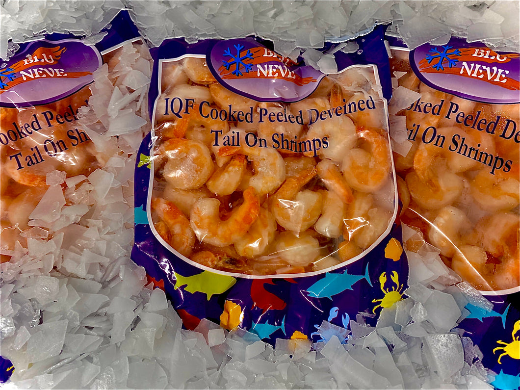 Luxury Cooked Peeled Deveined King Prawns (per bag)