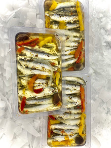 Provencial Marinated Anchovy Fillets