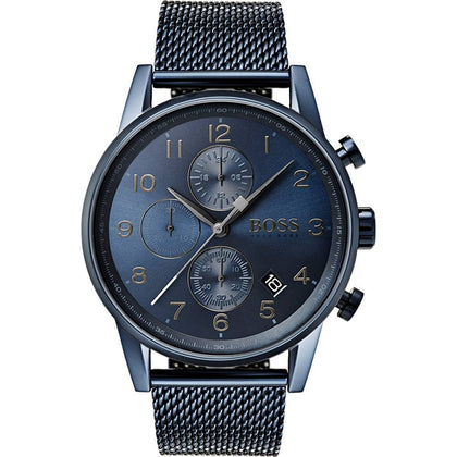 HUGO BOSS: Men's watch 1513538 in blue - www.choubrand.com