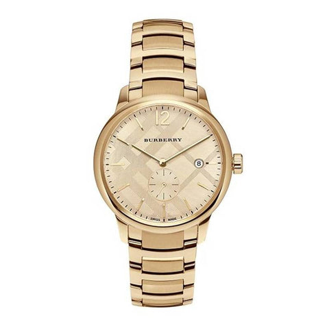 BURBERRY: Men's watch BU10006 in gold - www.choubrand.com