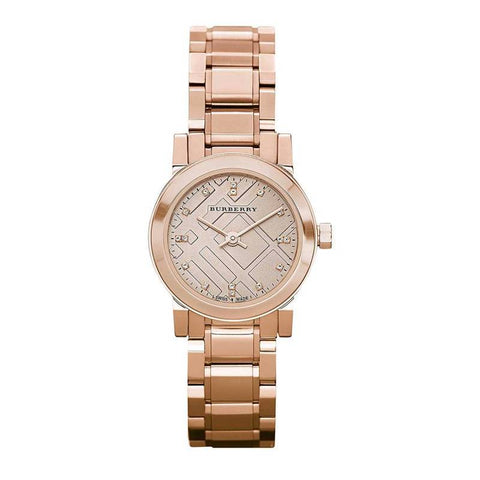 BURBERRY: Women's watch BU9215 in rose gold - www.choubrand.com