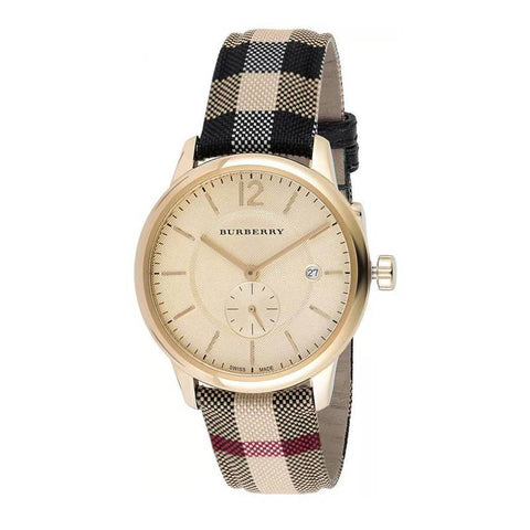 BURBERRY: Checked men's watch BU10001 - www.choubrand.com