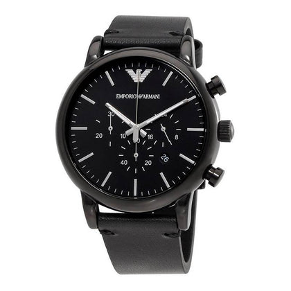 EMPORIO ARMANI: AR1918 men's watch in black