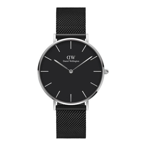 DANIEL WELLINGTON: Petite Ashfield DW00100308 women's watch in black
