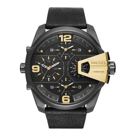 DIESEL: DZ7377 men's watch in black and gold - www.choubrand.com
