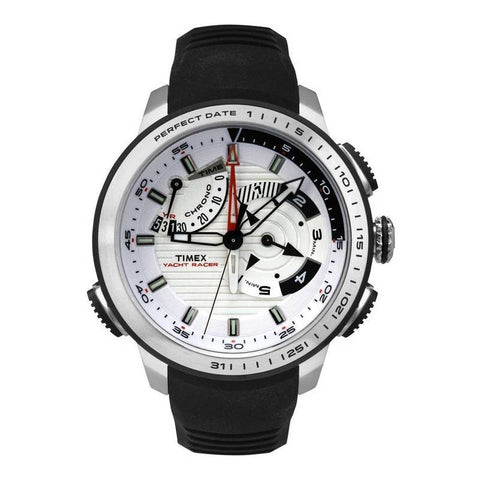 TIMEX: TW2P44600 Men's watch in silver/white/black