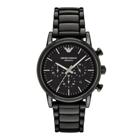 EMPORIO ARMANI: Men's watch AR1507 in black - www.choubrand.com