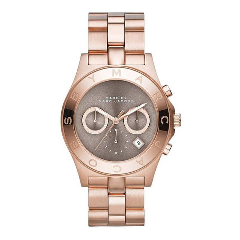 MARC JACOBS: Blade MBM3308 wristwatch for her in rose gold - www.choubrand.com