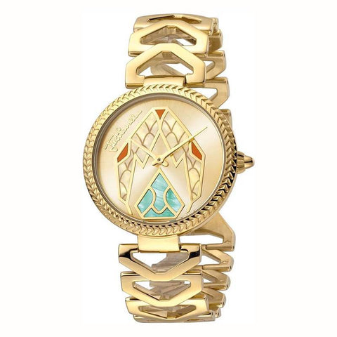 JUST CAVALLI: JC1L045M0065 women's watch in gold - www.choubrand.com