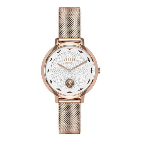 VERSUS VERSACE: VSP1S0919 wristwatch for her in rose gold/white - www.choubrand.com