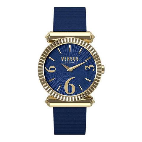 VERSUS VERSACE: Women's watch VSP1V0419 in navy blue/gold - www.choubrand.com