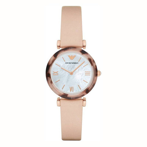 ARMANI: Women's watch AR11004 in pink and rose gold - www.choubrand.com