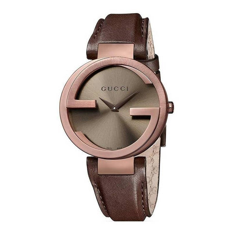GUCCI: Women's watch YA133309 in brown - www.choubrand.com