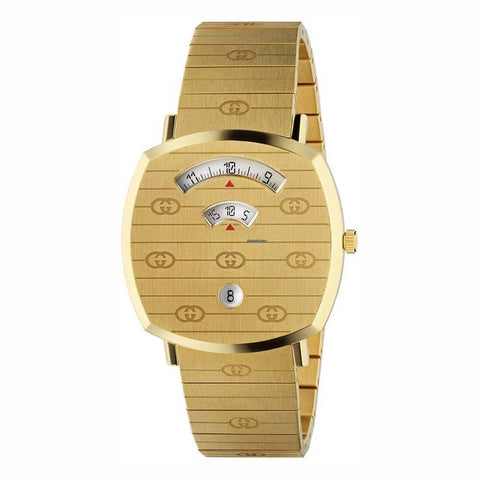 GUCCI: Uinisex watch YA157409 in gold - www.choubrand.com