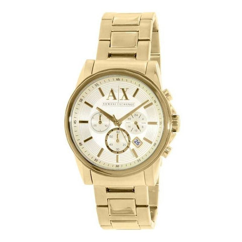 ARMANI EXCHANGE: Men's watch AX2099 in gold - www.choubrand.com