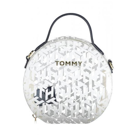 TOMMY HILFIGER: ICONS transparent crossbody bag - www.choubrand.com