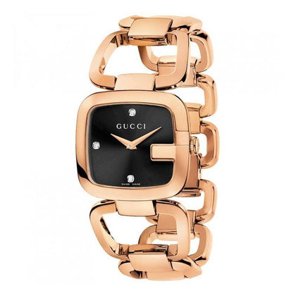GUCCI: Women's watch G-Series YA125409 in rose gold - www.choubrand.com