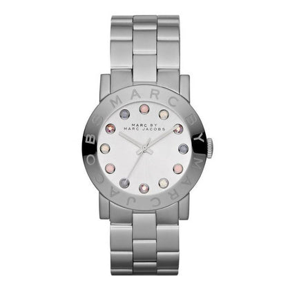 MARC JACOBS: Women's watch MBM3214 in silver - www.choubrand.com