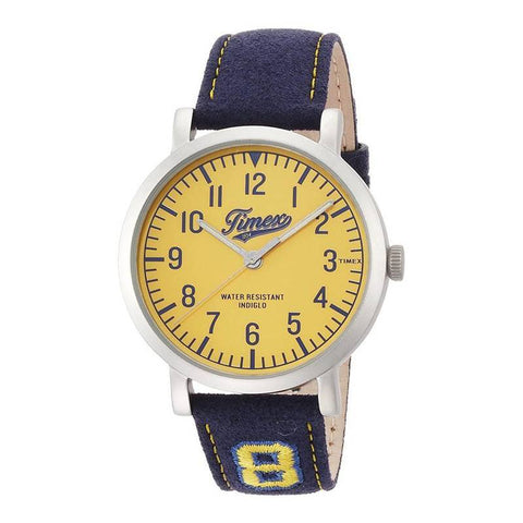 TIMEX: Men's watch TW2P83400 in blue and yellow - www.choubrand.com