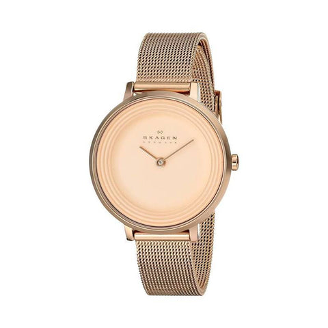 SKAGEN: Women's watch Ditte SKW2213 in rose gold - www.choubrand.com