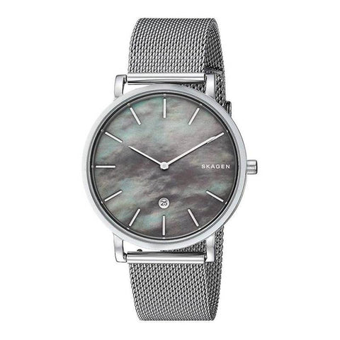 SKAGEN: Men's watch Hagen SKW6514 in silver - www.choubrand.com