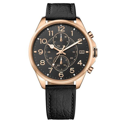 The Dean 1791273 men's watch by Tommy Hilfiger with its elegant but at the same time modern and minimalist cut and made with the best materials is the perfect accessory for your style to go with you everywhere. - www.choubrand.com